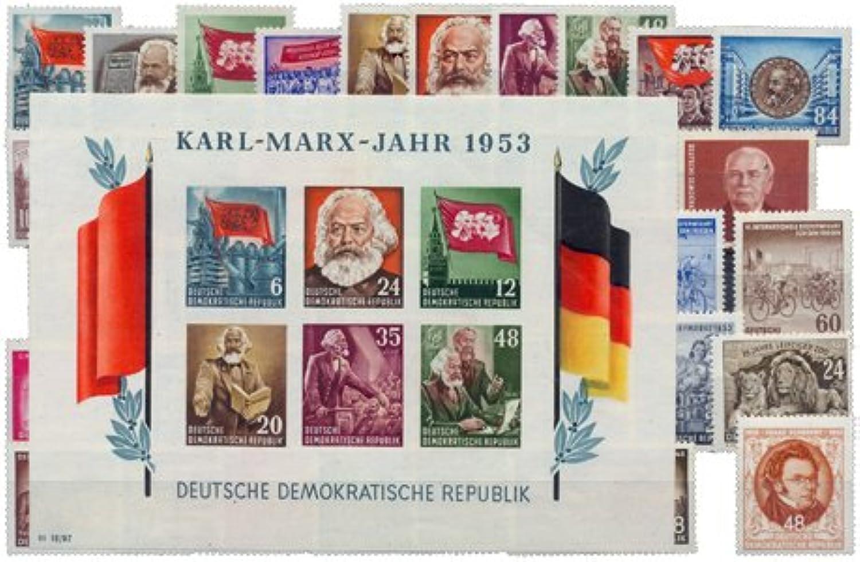 DDR kompletter Jahrgang 1953 postfrisch in Premium-Qualitt.