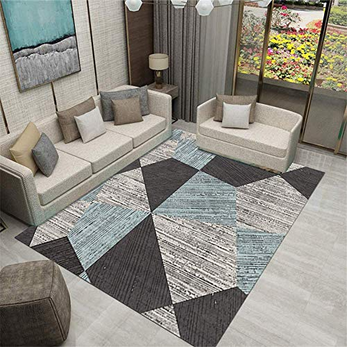XTUK Home Decoration Rug Fade Resistant Short Pile Durable Carpet Urable Rug Soft Carpet Bed Rugs Parlor Decor Area Rug Dining Rooms Family Rooms Hallways Foyers Non Slip Mat 120 * 160cm