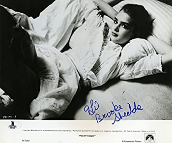 Brooke Shields Very Young Pretty Baby Vintage Signed Autographed 8x10 Photo Beckett BAS Certified Authentic COA
