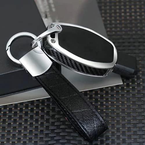 KSKKD Cubierta de la Caja de la Llave Inteligente del Coche de la cáscara de Cristal de la Fibra de Carbono de Madera, para Mercedes-Benz A/B/C/E/ML/GL/S/GLA/GLK/CLS/CLA W204 W205 W212