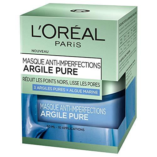 L'Oréal Paris Masque anti-imperfections argile pure - Le fl