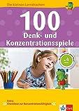 Klett 100 Denk- und Konzentrationsspiele: Die kleinen Lerndrachen, Vorschule, ab 4 Jahren, So...
