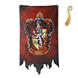 birthday decor for harry flag potter Banner - Gryffindor Slytherin...