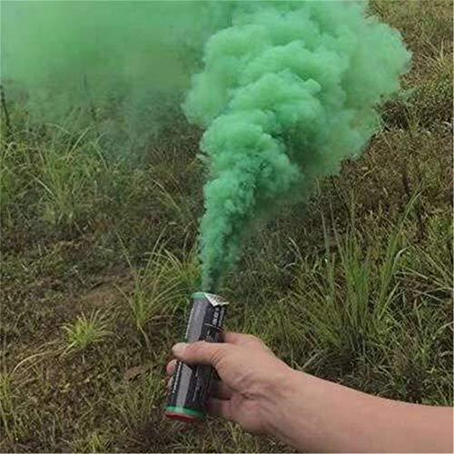 F.D.F. SRL Humo Bote Bengala DE Humo Verde (Verde)