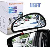 YnGia Blind Spot Mirrors, Rear View Blind Spot Mirrors Adjustable Car Auxiliary Universal Wide Angle Side Rearview...