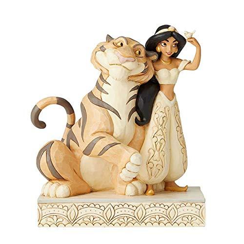 Disney Traditions Jasmine White Woodland Figurine