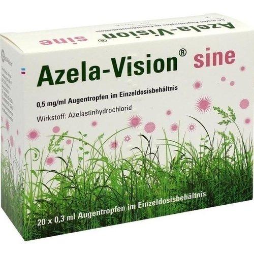 Azela-Vision sine, 20x0,3 ml Einzeldosis-Ophtiolen