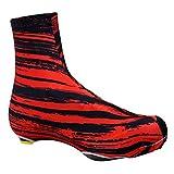 Lisansang - Juego de botas de lluvia para montar al aire libre, resistente al desgaste, antideslizante, portátil, resistente al agua, para el invierno, talla XL 43-46