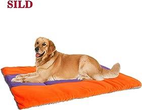 SILD Colchón para Perros Colchón para Mascotas Colchón Reversible para Perros Perros y Gatos Colchoneta Acolchada Suave(XXL)