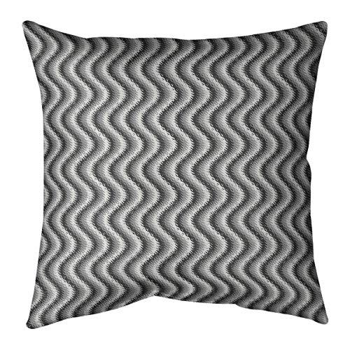 ArtVerse Katelyn Smith 20 x 20 Indoor//Outdoor UV Properties-Waterproof and Mildew Proof Arkansas Love Pillow