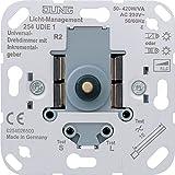 JUNG 254 UDIE1 Regulador de intensidad Integrado Metálico - Reguladores (Regulador de intensidad, Integrado, Metálico, 230 V, 50-60 Hz)