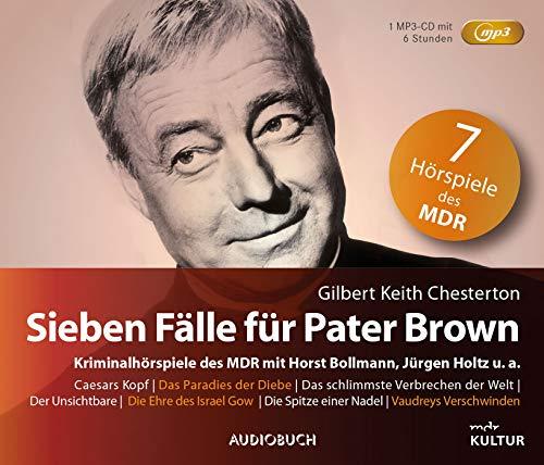 Sieben Fälle für Pater Brown (Sonderausgabe auf 1 MP3-CD)