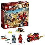 LEGO 71734 Ninjago Moto Acuchilladora de Kai, Juguete de Construcción con Mini Figura de Ninja para Niños 4 Años