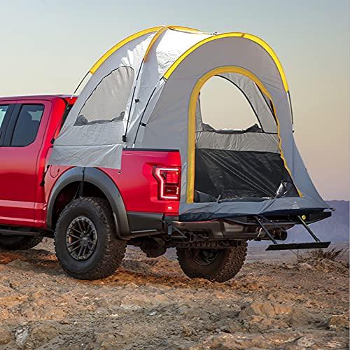BMDHA Auto Hinten Zelt,Vorzelt Wohnwagen Atmungsaktiv Umweltschutz,Luftvorzelt FüR Wohnwagen Wasserdicht Tragbar Heckzelt Caddy Pickup Standard Tragbar