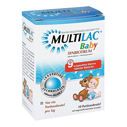 Multilac baby synbiotic pouch pack of 10
