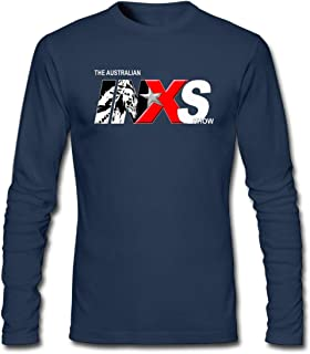 Hefeihe DIY INXS Show The Australian Men's Long-Sleeve Fashion Casual Cotton T-Shirt