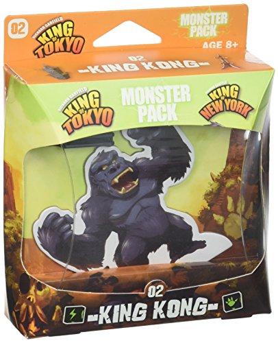 Iello King of Tokyo 51421 Monster Pack - Juego de Cartas King Kong (en inglés)