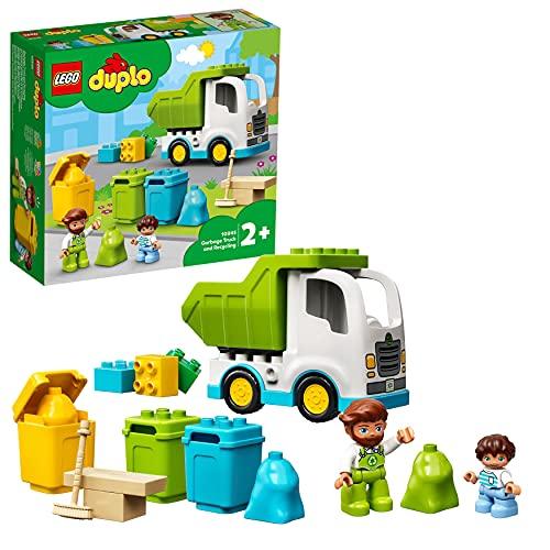 LEGO DUPLO Town Camion della Spazzatura e Riciclaggio,...