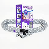 Noggle Extend Your Air Conditioning or Heat to Your Kids Instantly (8 Feet, Grey Quatrefoil) by The Noggle