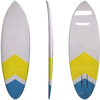 ZLBZBB Tabla de Surf, esquí acuático Profesional para Adultos, Tabla de Remo de pie, Blanco