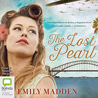 The Lost Pearl                   Written by:                                                                                                                                 Emily Madden                               Narrated by:                                                                                                                                 Rebecca Macauley                      Length: 15 hrs and 50 mins     18 ratings     Overall 4.6