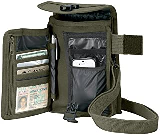 Rothco Canvas Travel Portfolio, Olive Drab