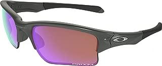 Men's OO9200 Quarter Jacket Rectangular Sunglasses, Steel/Prizm Golf, 61 mm