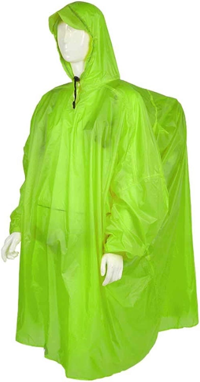 LZY Regenmantel- Outdoor Regenmantel Siamesischer Rucksack Mnner Und Frauen Poncho Wandern Wandern Fotografie Ausrüstung Superleichter Guter Gürtel, Starker Regen