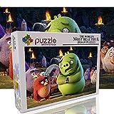 Puzzle per adulti 1000 pezzi Puzzle Set puzzle a tema uccello arrabbiato Giocattolo per l'intrattenimento familiare Regali di Natale (70 x 50 cm)