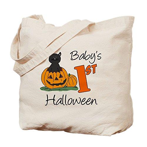 CafePress Baby First Halloween Tragetasche, canvas, khaki, M