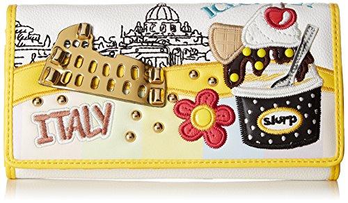 BRACCIALINI TUA Tua by Cartoline, Portafoglio Donna, Multicolore (Unico), 19x10x3.5 cm (W x H x L)