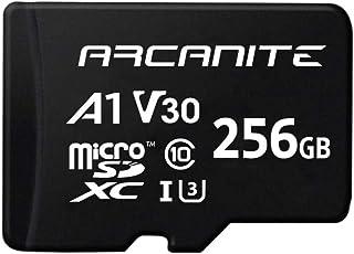 【Amazon.co.jp 限定】アルカナイト(ARCANITE) 256GB microSDXCカード UHS-I U3, A1, V30, 4K, C10, SDアダプター付 - AKV30A1256