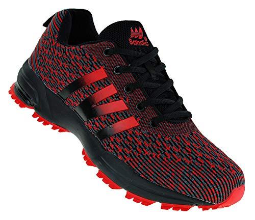 Sandic 965 Neon Turnschuhe Sneaker Sportschuhe Herren, Schuhgröße:44
