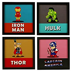 Awesome Art Prints (Home Decor) - Superhero - Avengers - Marvel - Amazon