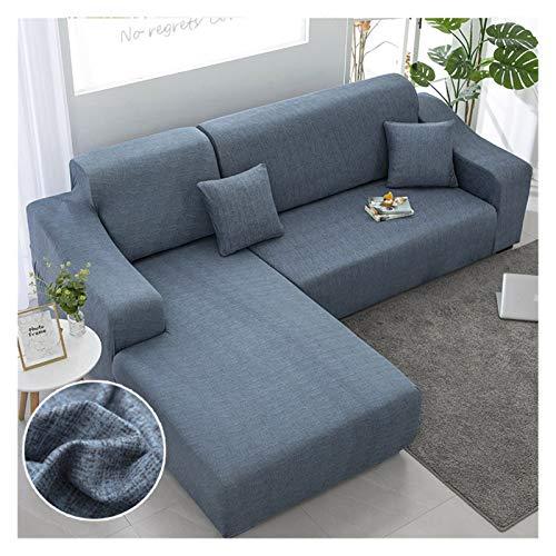 NEWRX Chaise Longue Sofa Abdeckungen für Wohnzimmer Elastische Sofa Slipcover Couch Cover Stretch Corner L-Shapes Sofa Need Kaufen Sie 2 stücke Cover