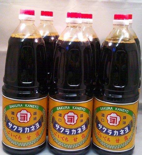 サクラカネヨ 甘露 1.8リットル 6本セット