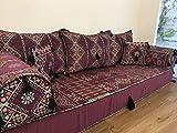 Orient Oriental sofá, sedari, Kelim Cojín de suelo
