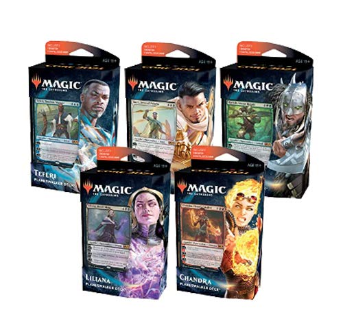 MTG Magic the Gathering Core Set 2021 M21 - ¡Las 5 mazadas Planeswalker!