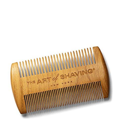The Art of Shaving Peigne à barbe en bois de santal.