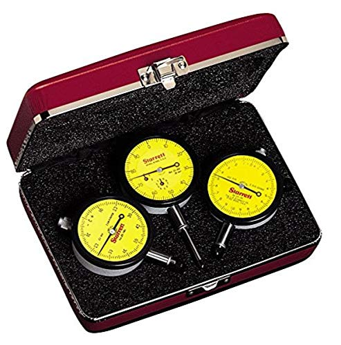 Series 253 Set of 3 Millimeter Reading Dial Indicators Includes 25-161J, 25-181J and 25-881J
