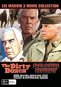 3 Movies - Death Hunt / Avalanche Express / The Dirty Dozen - Lee Marvin Collection - DVD Set