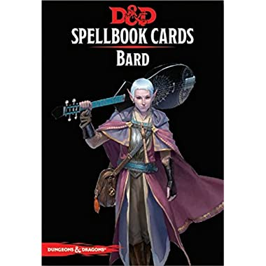 73918 D&D: Spellbook Cards: Bard Deck