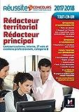 Réussite Concours Rédacteur territorial Rédacteur principal catégorie B. 2017-2018 N°59