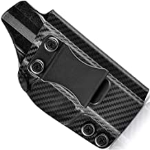 Concealment Express IWB KYDEX Holster fits SCCY CPX-1 / CPX-2 | Right | Carbon Fiber Black