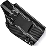 Concealment Express IWB KYDEX Holster fits Springfield XD-M 3.8' 9mm | Right | Carbon Fiber Black