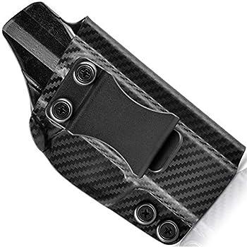 Concealment Express IWB KYDEX Holster fits Kahr PM9   Right   Carbon Fiber Black
