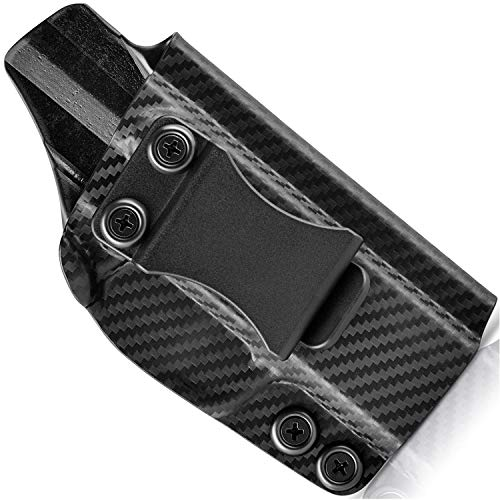 Concealment Express IWB KYDEX Holster fits Sig Sauer P320 Compact/Carry | Right | Carbon Fiber Black
