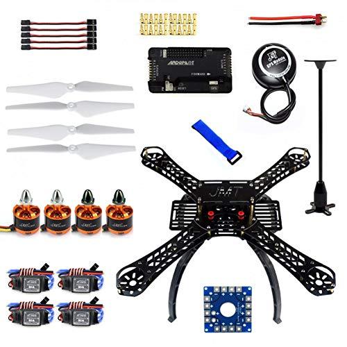 JIJIONG DIY Rc Drohne Quadrocopter X4M380L Rahmenkit Apm 2.8 Flugsteuerung GPS Bürstenloser Motor Quadcopter F14893-K