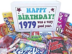 LET THEM REMINISCE ABOUT THEIR CHILDHOOD THIS BIRTHDAY: Assortment of the most popular and nostalgic candy from their childhood, this makes the perfect gift for bringing back happy memories PERFECT 41ST BIRTHDAY IDEAS: Great for anyone with a sweet t...