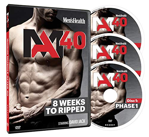 Men's Health MA40: at-Home Workouts for Building Muscle After 40